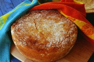 Potjie bread from Transkei