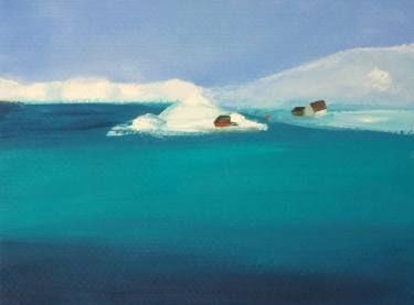 "Saatchi Art Artist Marta Zamarska; Painting, ""Winter Postcard 6"" #art"