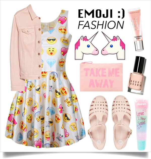 """Fun Emoji Fashion"" by alaria on Polyvore"