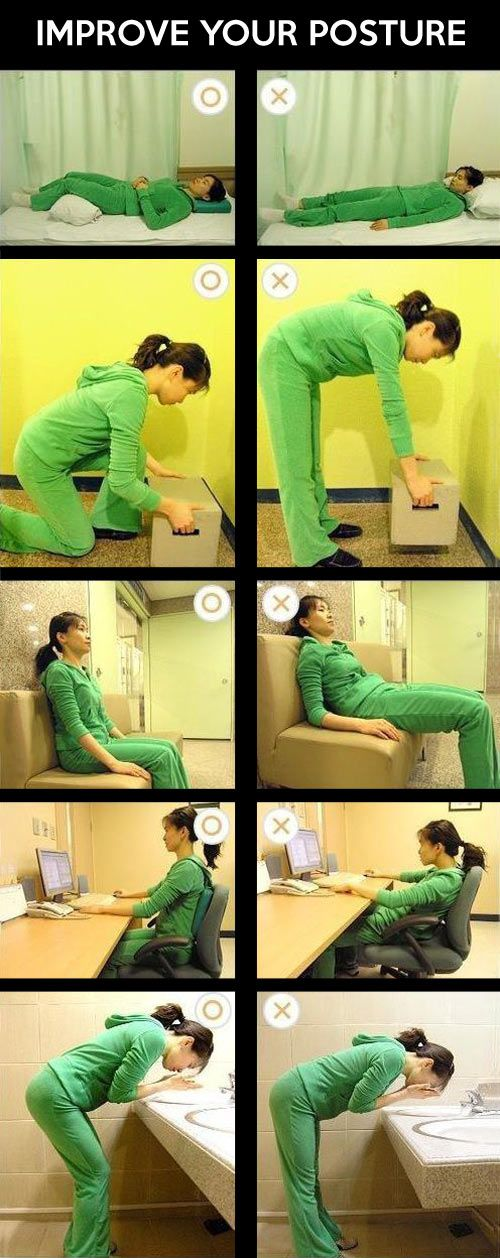 Good posture is important…