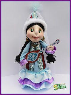 Калейдоскоп фантазий: Сувенирные куколки