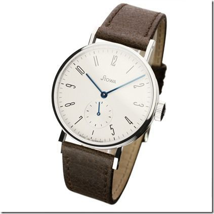 Stowa Antea Small Second Silver