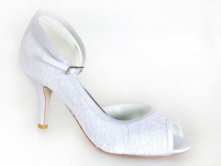 #AnellaWeddingShoes Karen style #Lace www.weddingshoes.co.za Available from September 2014 Can be dyed to any colour!