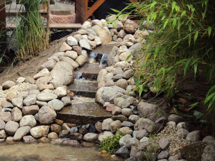 26 best Bachlauf images on Pinterest Garden ideas, Plants and - wasserfall selber bauen anleitung