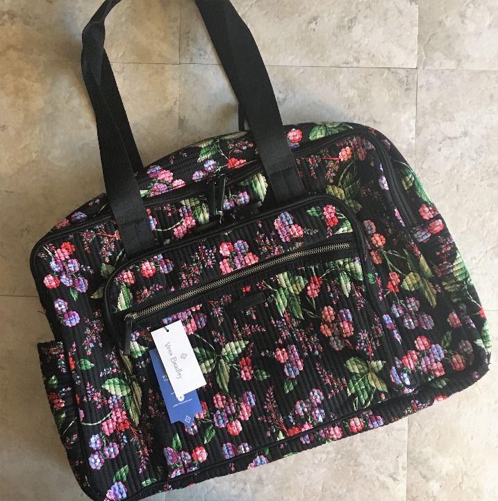 Cool Item Vera Bradley Weekender Bag Winter Berry