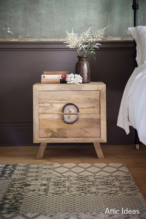 More About Attic Remodel Rustic Unique Bedside Tables Wooden Bedside Table Furniture