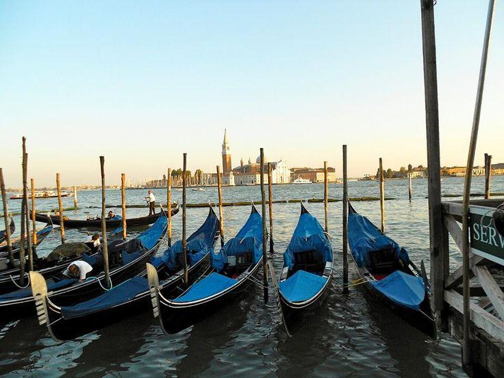 Vista gondole - Venezia