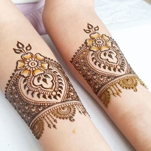 Mehndi Tattoo Baju : Best images about bracelet and bangle mehndi designs on