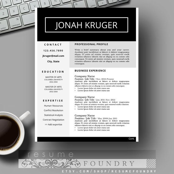 Best 25 Student resume template ideas – Student Resume Template Word