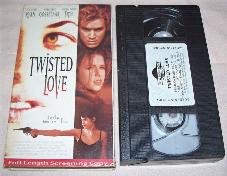 Twisted Love VHS 1995 Screener Mark Paul Gosselaar Soleil Moon Frye Lisa Dean