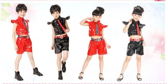 Chica chico hip hop danza disfraces body 5 ropa para niños establecido nagle baile latino trajes de baile de jazz E 076 en Latino de Novedad y de uso especial en AliExpress.com   Alibaba Group