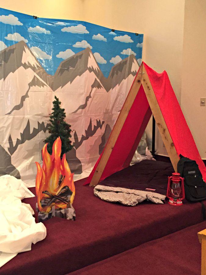 Group Everest VBS Decorating - Joyful Musings
