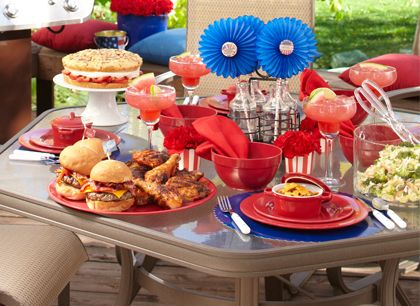 Sandra Lee Red, White & Barbecue- Red, White & Barbecue