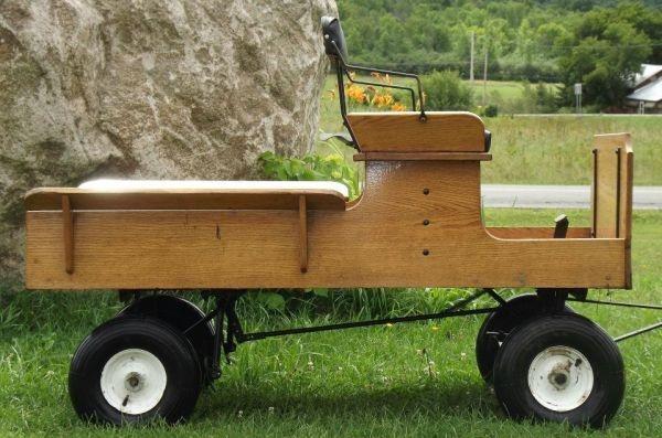 mini pony cart