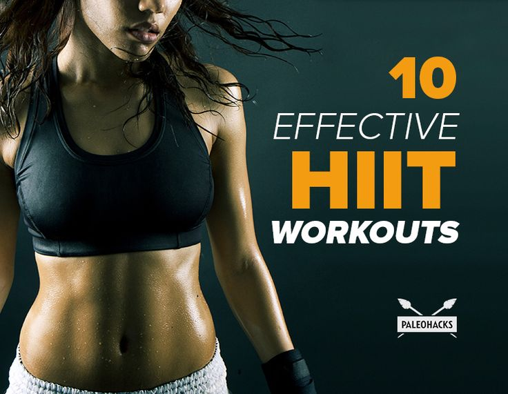 These 10 effective HIIT workouts will kick your butt and whip you into shape!