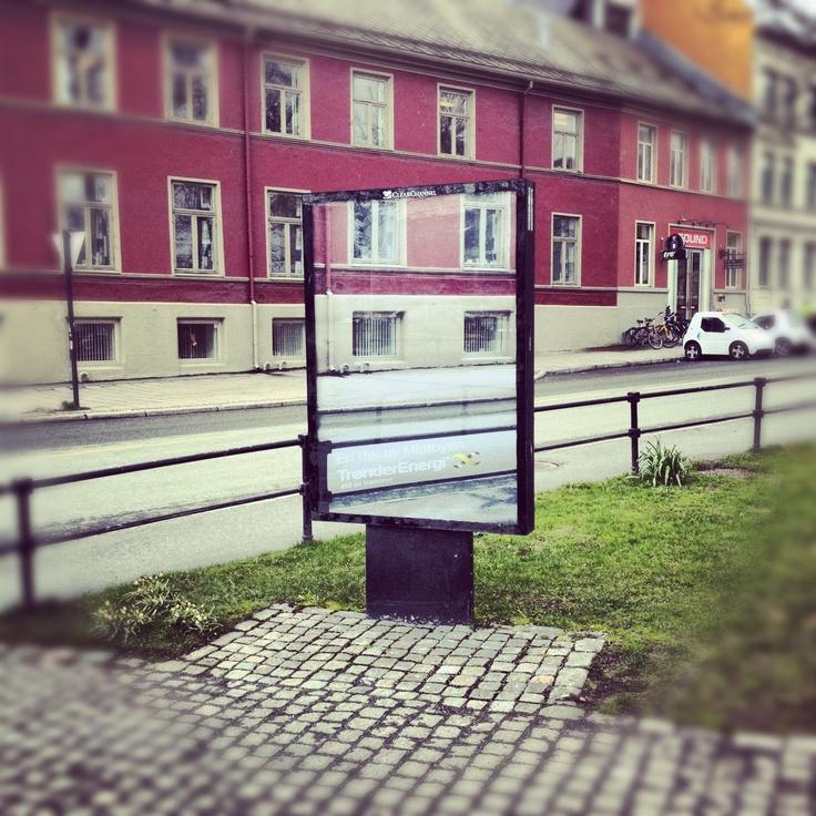 Kampanje vi har laget for Trønderenergi. Finn din del av byen og vær med i konkurransen om dagspass til Pstereo. #minbydel #Trondheim