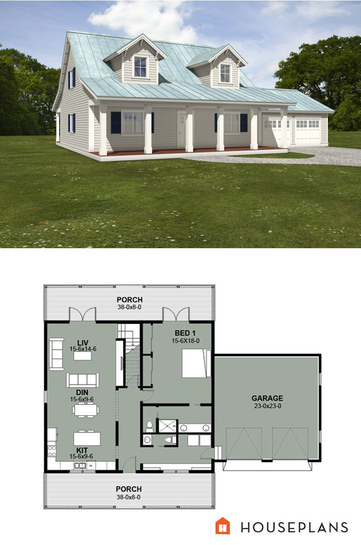 259 best Farmhouse Plans images on Pinterest | Country ...