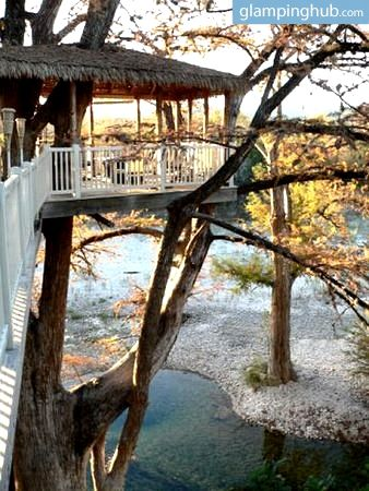 Unique Waterfront Tree House In Rio Frio Texas Tree