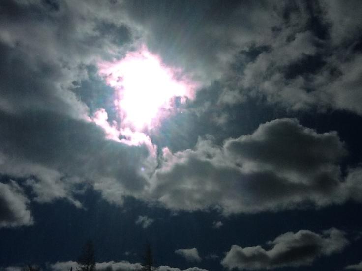 Northern daylight sky
