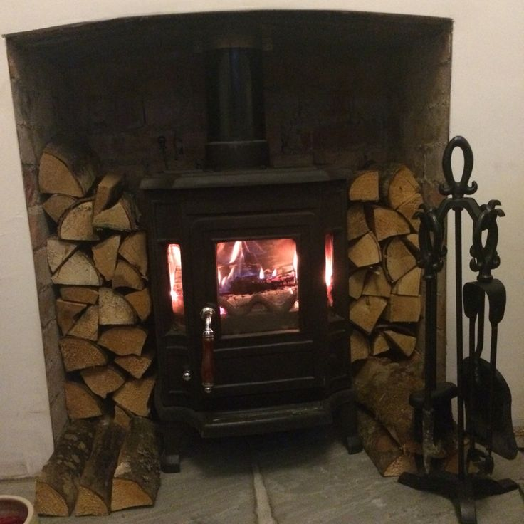 Our woodburner