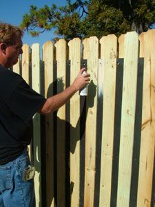 Acoustifence Concealed With Shadow Box Fencing. Can Be Painted With Outdoor  Latex Based Paint.