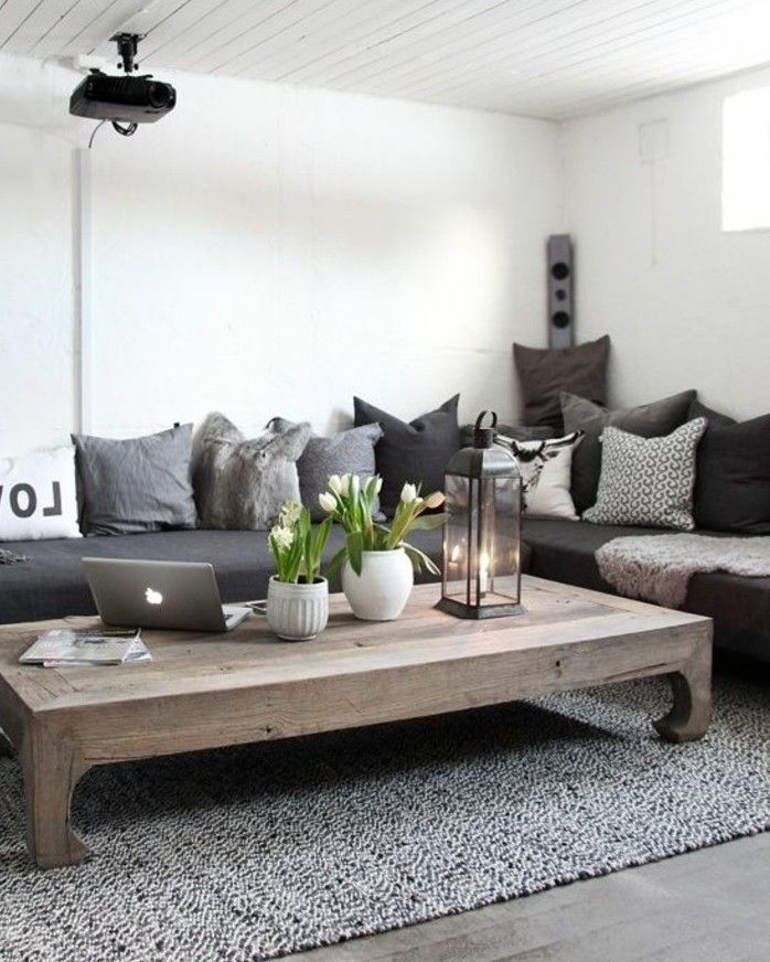 les 25 meilleures id es de la cat gorie tables canap s. Black Bedroom Furniture Sets. Home Design Ideas