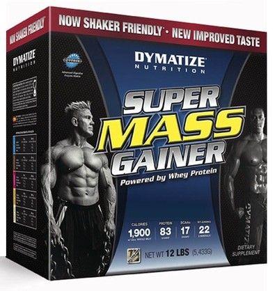 Dymatize Nutrition Super Mass Gainer Cookies & Cr 5430 g