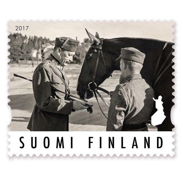 Suomi Finland 2017 MNH Stamp - Field Marshal Mannerheim 150th Ann - Military  | eBay