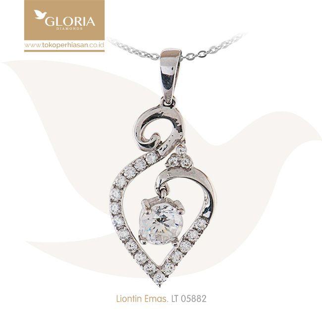 Liontin Emas Putih Bentuk Daun Mata Zerconia Variasi. #goldpendant #goldstuff #gold #goldjewelry #jewelry #pendant #perhiasanemas #liontinemas #tokoperhiasan #tokoemas