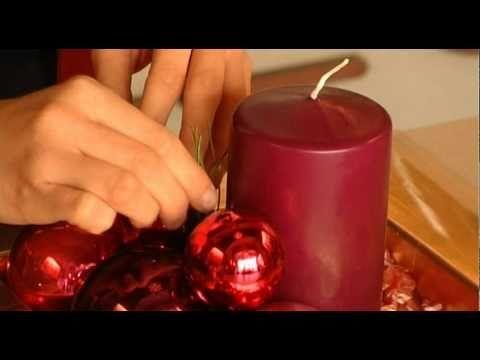 Fleurt kreatív karácsonyi asztaldíszek - table decoration