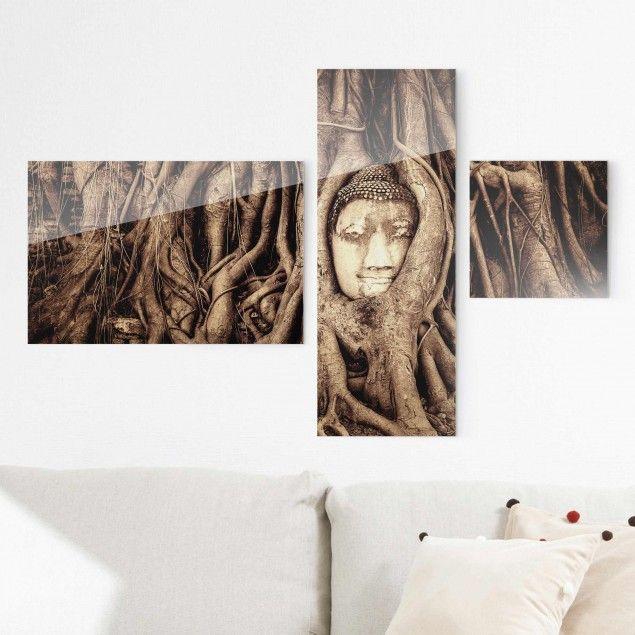 Buddha Bilder Pinterestu0027te Emotionen, Buddha ve Schöne Sprüche - glasbilder xxl küche