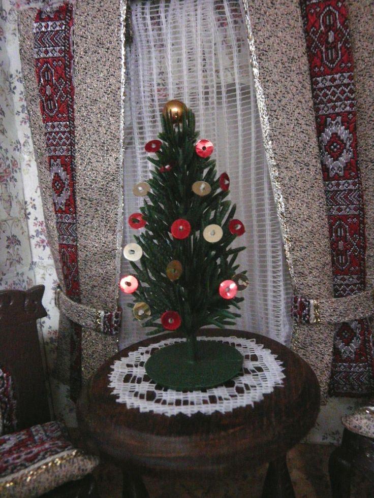 Vianoce vo vstupnej hale