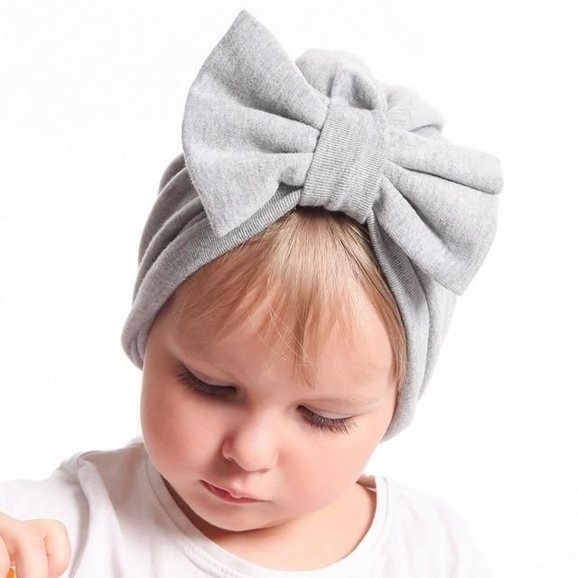Kids Girl Boy Baby Toddler Bow Headband Hair Band Accessories Headwear Head Wrap