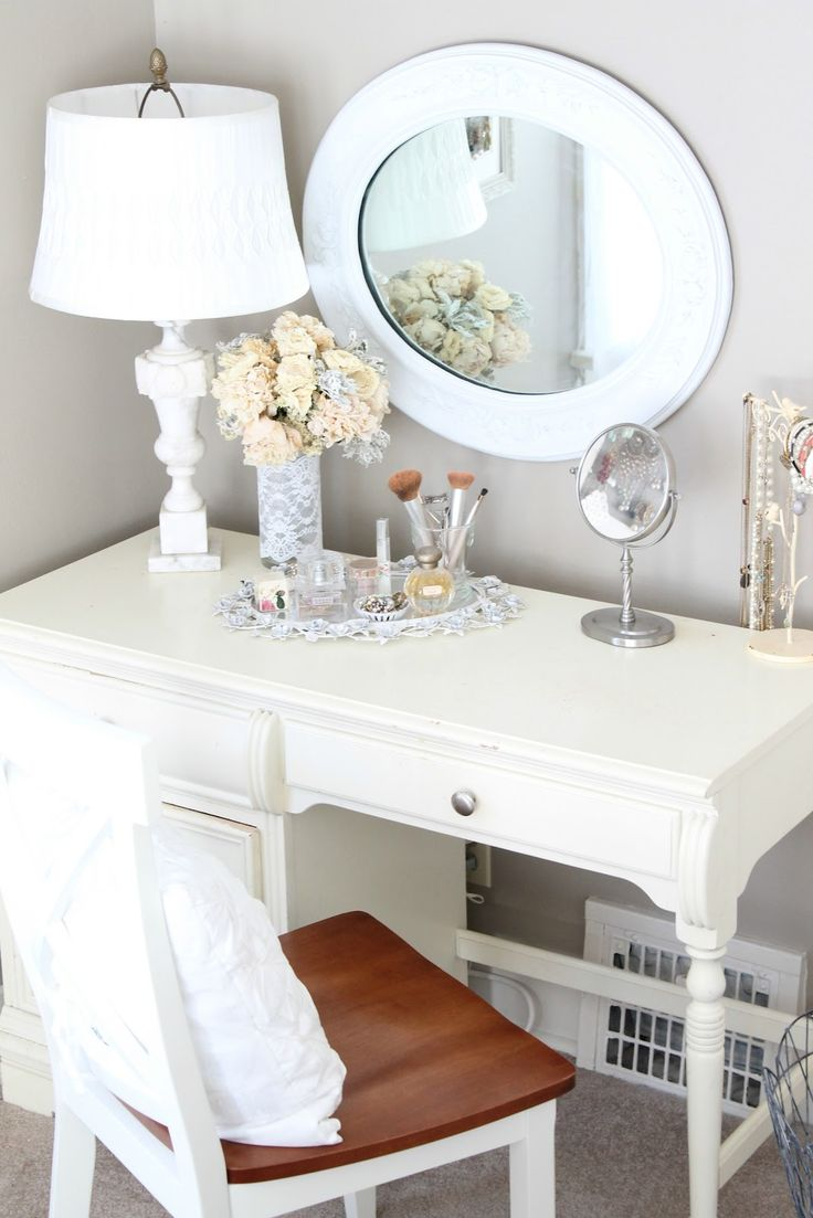 I literally have an old desk identical to this that would be perfect.... hmmm