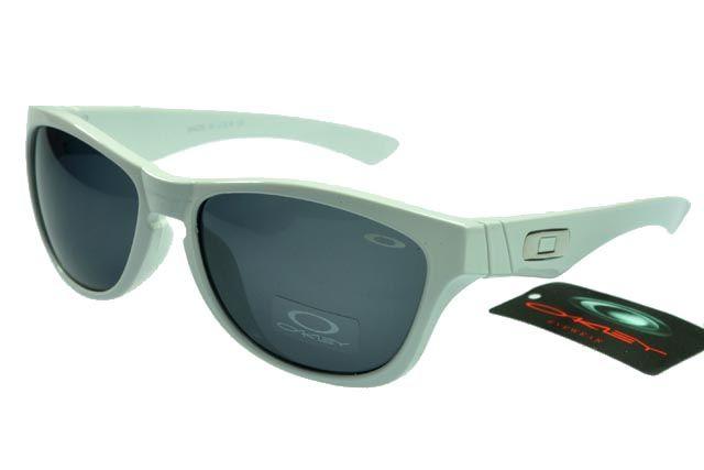 Oakley Active Sunglasses White Frame Gray Lens 0059