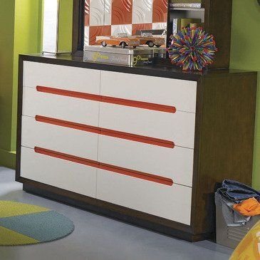Teen Nick Drawer Dresser by Lea. $735.00. Length 18. 8 Drawers. Width 58. Height 36. Finish Medium Wood. No longer a little kid but not quite a teenager, tweens live in a constant state of transition. The TweenNick collection from Nickelodeon Rooms bridges the gap with grown-up, tween-friendly furniture.Beds are the focal point of the TweenNick colection, and the modular components and unique functional features will allow your tween to personalize their room. Clos...