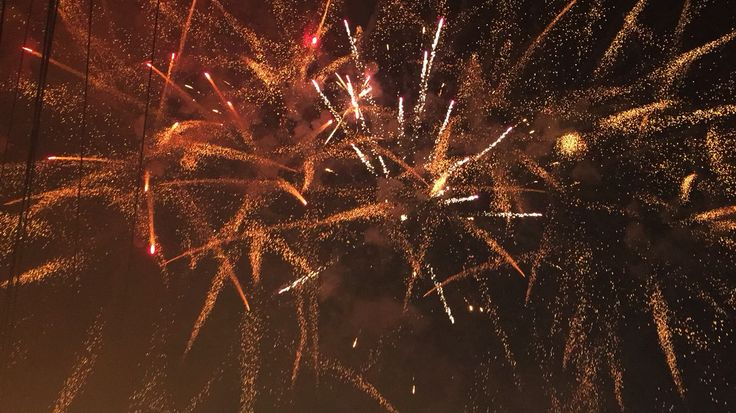 Fireworks #newyeareve #2015 #Bali #indonesia