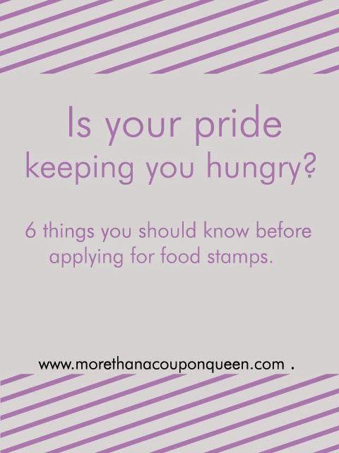 Les 25 meilleures ides de la catgorie apply food stamps sur is your pride keeping you hungry ccuart Choice Image