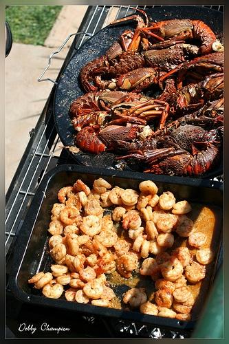 crayfish Braai (BBQ)