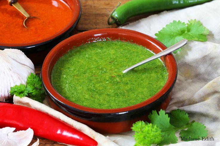 Mojo Verde - jeden z najpopularniejszych sosów na Wyspach Kanaryjskich. Bardzo smaczny i aromatyczny. Do zrobienia w 5 minut w domu.