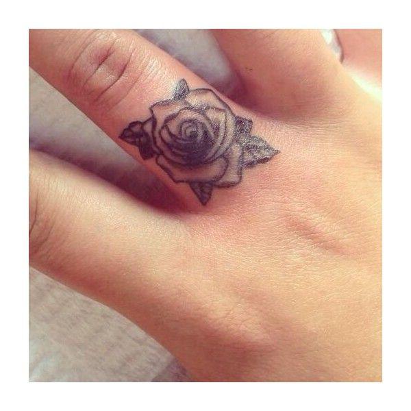 Mini Tattoo, Finger Tattoo, Tattoo Placement, Rose Tattoo Tattoo Inspo ❤ liked on Polyvore
