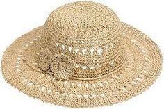 chapéu em crochê para praia - Pesquisa Google