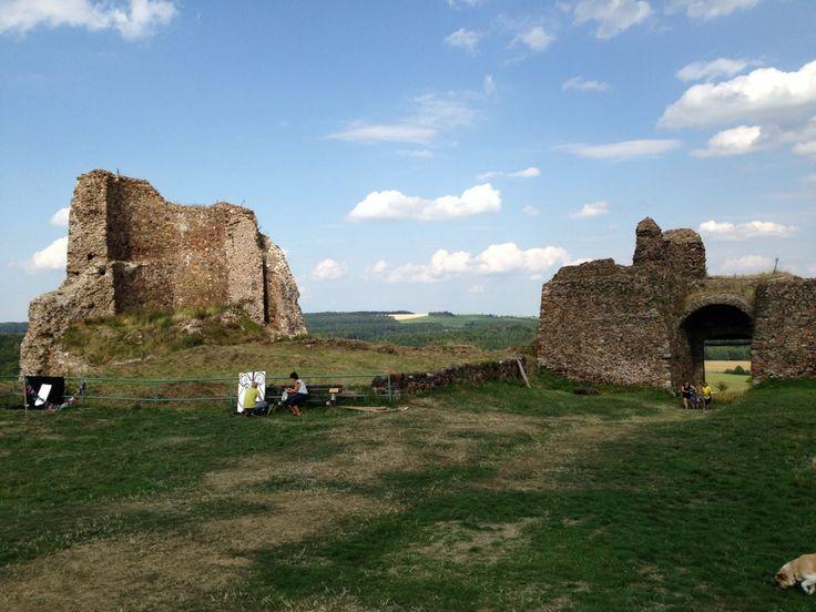 Lichnice - zřícenina hradu