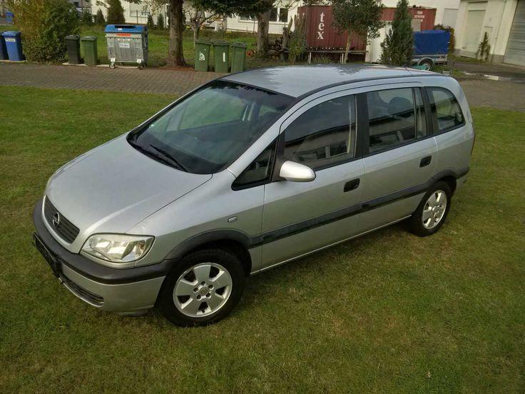 Opel Zafira 1.8, 7-Sitzer oder Riesenladeraum, Rentnerauto, Bastlerauto, Defekt