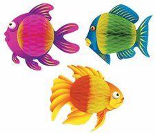 colorful tissue fish