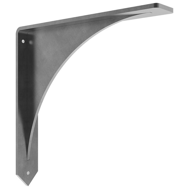 Federal Brace Arrowwood Countertop Support 12 Inch X 12 Inch
