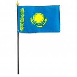Kazakhstan flag 4 x 6 inch $1.80 each