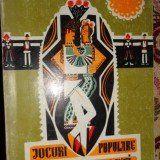 Jocuri populare moldovenesti an 1971/275pag- Tudorel Stanescu (cu semnatura) - Carte folclor