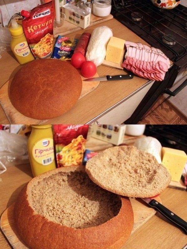 Du schneidest dein Brot in Scheiben? Nach dieser Idee machst du das NIE mehr.