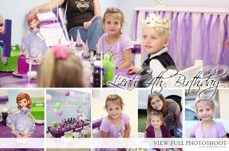 4th Birthday - Little Prince and Princesses